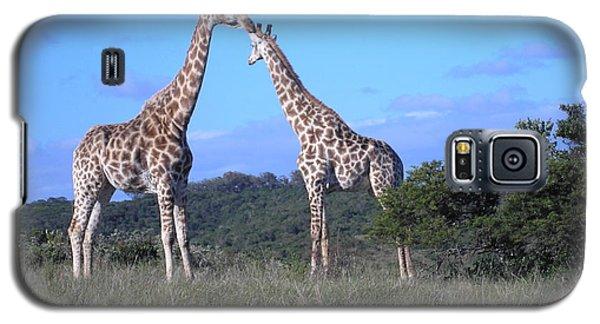 Lovers On Safari Galaxy S5 Case