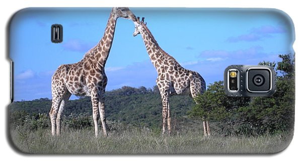 Lovers On Safari Galaxy S5 Case