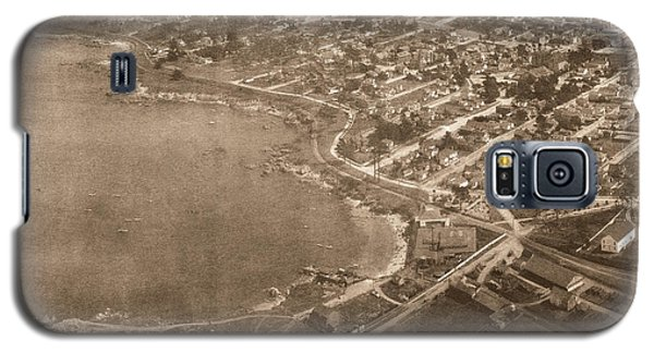 Aerial Of Lovers Point And Pacific Grove California July 10 1906 Galaxy S5 Case