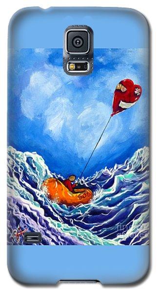 Love's Castaway Galaxy S5 Case by Jackie Carpenter