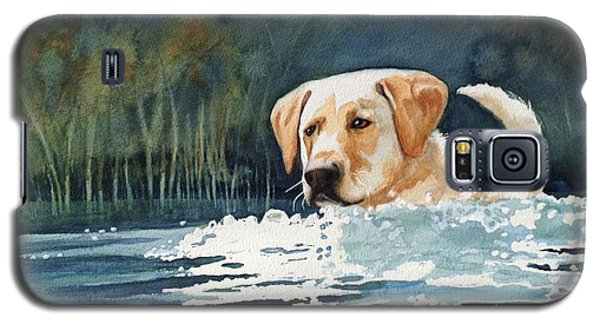 Loves The Water Galaxy S5 Case by Marilyn Jacobson