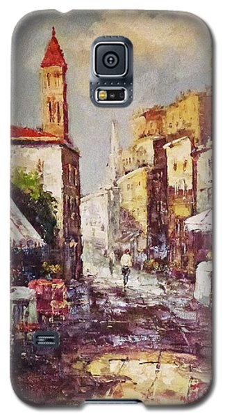 Loving Old Towns Galaxy S5 Case by AmaS Art