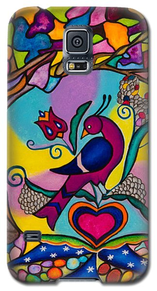 Loving The World Galaxy S5 Case by Lori Miller