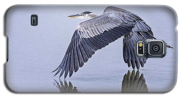 Low Flying Heron Galaxy S5 Case