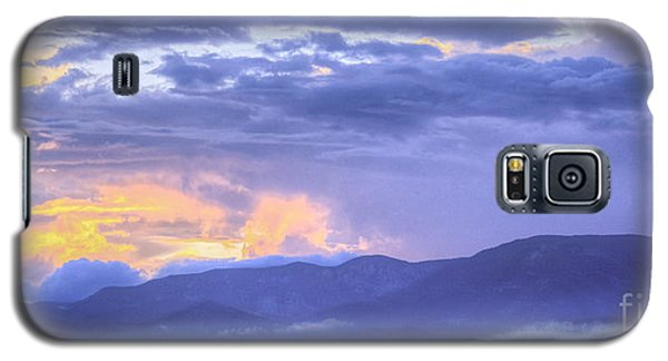 Low Hanging Clouds At Sunset Galaxy S5 Case