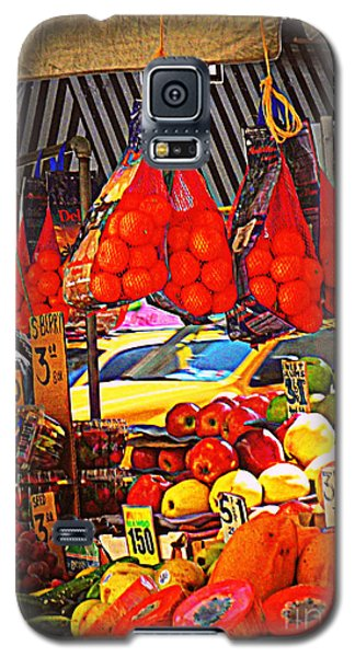 Galaxy S5 Case featuring the photograph Low-hanging Fruit by Miriam Danar