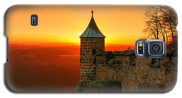 Low Sun On The Fortress Koenigstein Galaxy S5 Case