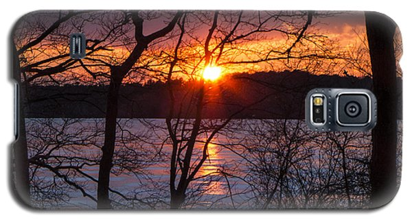 Lowell Holly Sunset Galaxy S5 Case