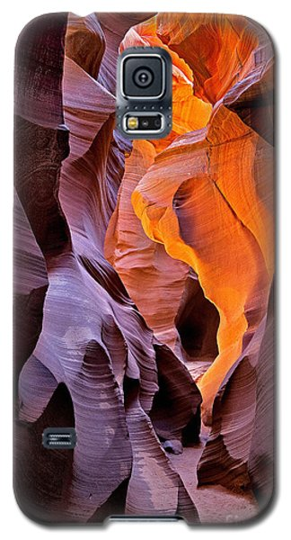 Lower Antelope Glow Galaxy S5 Case by Jerry Fornarotto