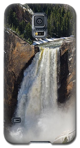Lower Falls Of The Yellowstone Galaxy S5 Case