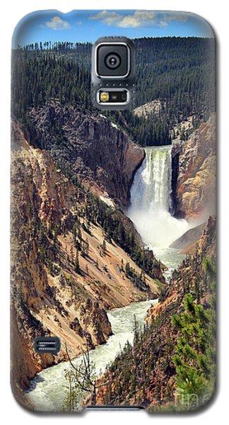 Lower Falls Of Yellowstone Galaxy S5 Case