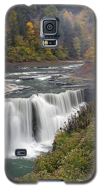 Galaxy S5 Case featuring the photograph Lower Falls by Timothy McIntyre