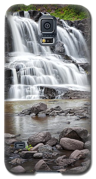 Lower Gooseberry Falls Galaxy S5 Case by Randall Nyhof