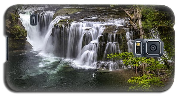 Lower Lewis River Falls Galaxy S5 Case