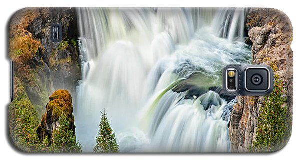 Lower Mesa Falls Galaxy S5 Case by Joan Herwig