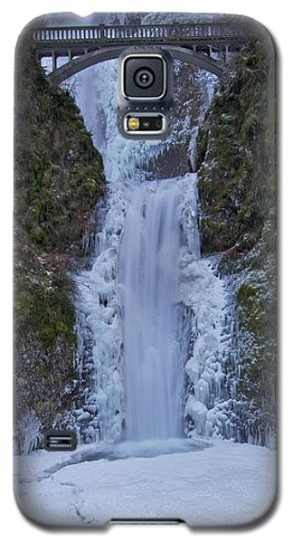Galaxy S5 Case featuring the photograph Lower Multnomah Falls 120813a by Todd Kreuter