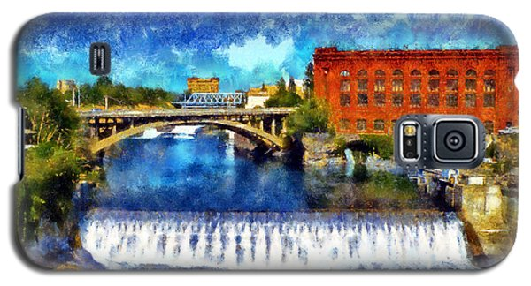 Lower Spokane Falls Galaxy S5 Case
