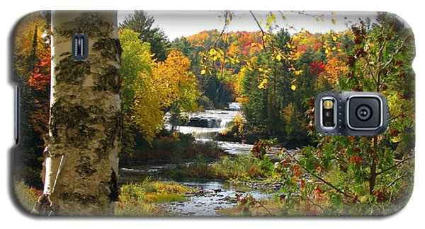 Lower Tahquamenon Falls In October No 1 Galaxy S5 Case
