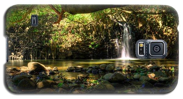 Lower Twin Falls Maui Galaxy S5 Case