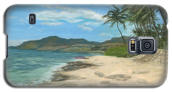 Lualualei Beach Galaxy S5 Case