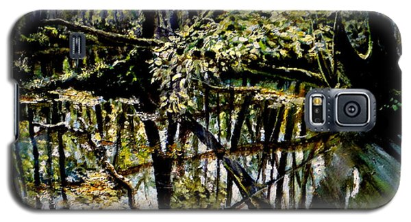 Lubianka-4 Mystery Of Swamp Forest Galaxy S5 Case by Henryk Gorecki