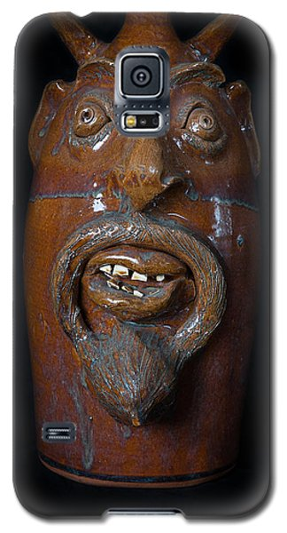 Galaxy S5 Case featuring the painting Lucifer Jug by Izabella West