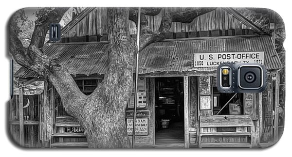 Luckenbach 2 Black And White Galaxy S5 Case