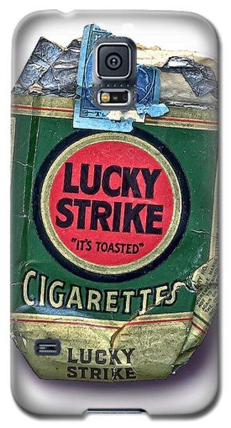 1940's Lucky Strike Green Galaxy S5 Case by Walt Foegelle