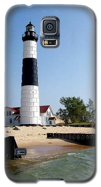 Ludington Michigan's Big Sable Lighthouse Galaxy S5 Case