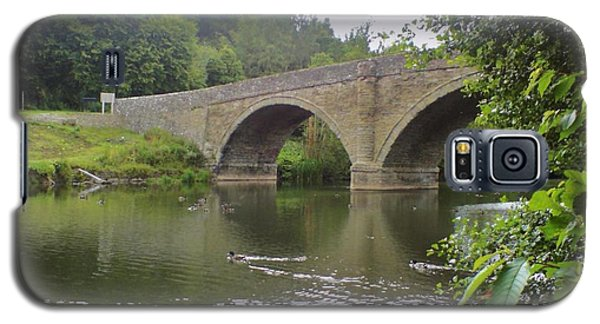 Galaxy S5 Case featuring the photograph Ludlow Bridge by John Williams