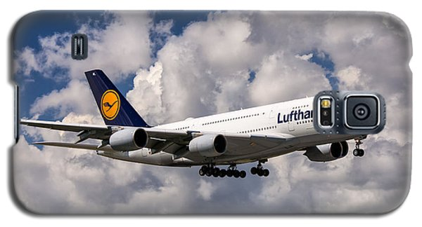 Lufthansa A380 Hamburg Galaxy S5 Case