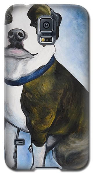 Galaxy S5 Case featuring the painting Lugnut by Leslie Manley