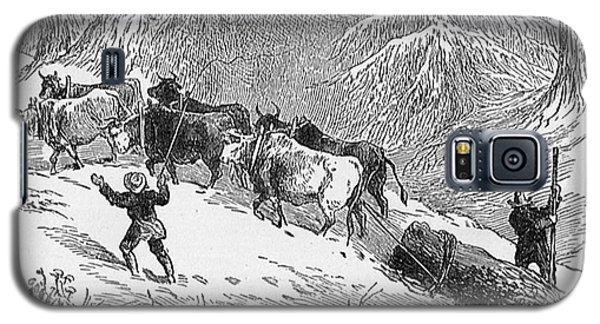 Lumbering - 1878 Galaxy S5 Case