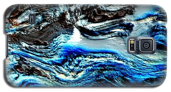 Galaxy S5 Case featuring the digital art Lumenittoral by Richard Thomas