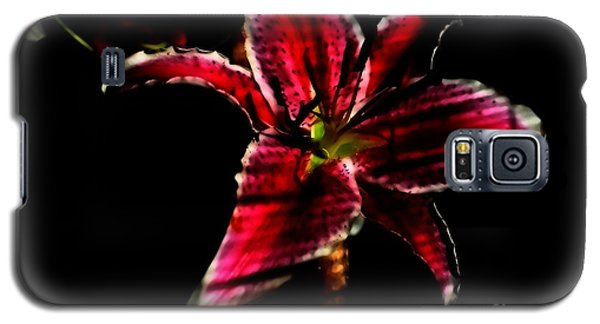 Galaxy S5 Case featuring the photograph Luminet Darkness by Jessica Shelton
