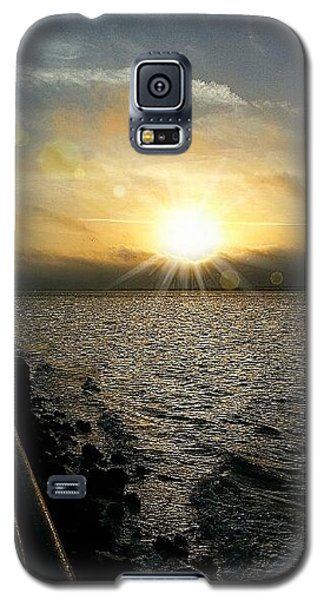 Galaxy S5 Case featuring the photograph Luminous Sunrise Of Hope by Joetta Beauford