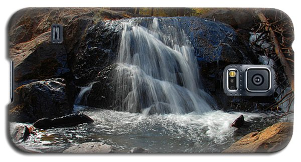 Galaxy S5 Case featuring the photograph Lundy Creek Cascades by Lynn Bauer