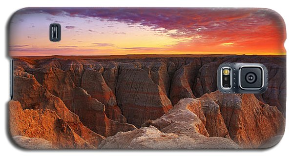 Landscapes Galaxy S5 Case - Lusting Crust 1 by Kadek Susanto
