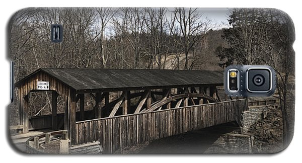 Luther's Mill Covered Bridge Galaxy S5 Case