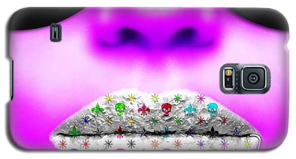 Kiss Me Purple Galaxy S5 Case
