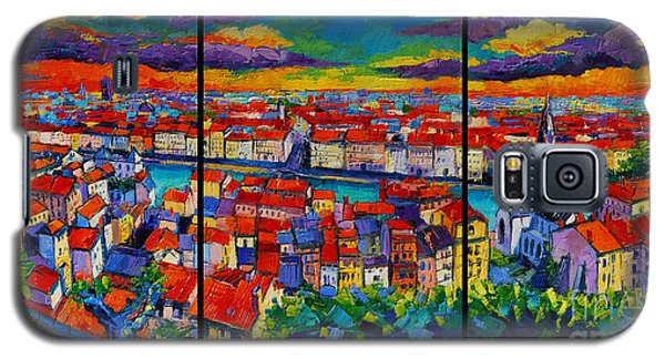 Lyon Panorama Triptych Galaxy S5 Case