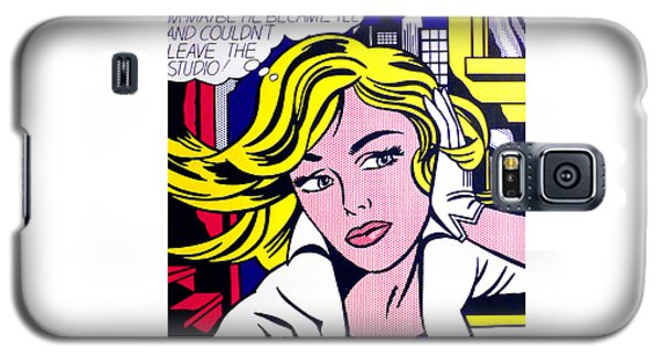 M-maybe - Roy Lichtenstein  Galaxy S5 Case