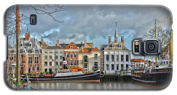 Maassluis Harbour Galaxy S5 Case