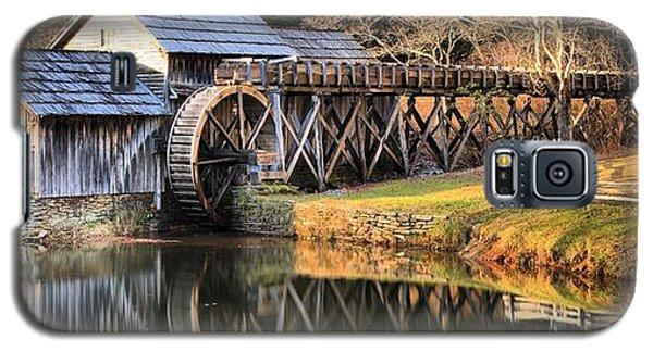 Mabry Grist Mill Fall Panorama Galaxy S5 Case