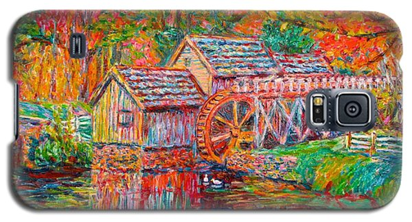 Mabry Mill In Fall Galaxy S5 Case