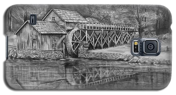 Mabry Mill Pencil Drawing Galaxy S5 Case