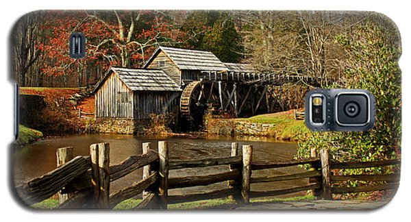 Galaxy S5 Case featuring the photograph Mabry Mill by Suzanne Stout