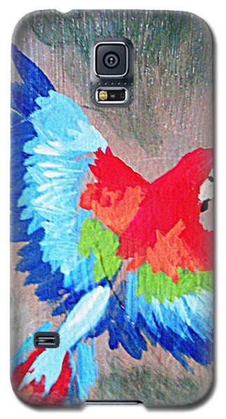 Macaw In Flight Galaxy S5 Case