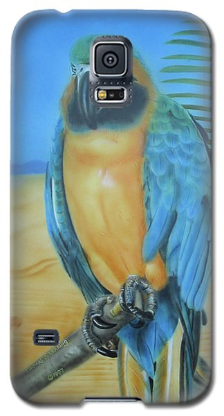 Macaw On A Limb Galaxy S5 Case