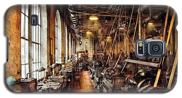 Machinist - Machine Shop Circa 1900's Galaxy S5 Case